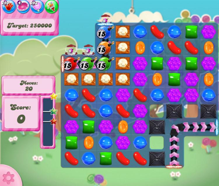 Candy Crush Saga level 2820