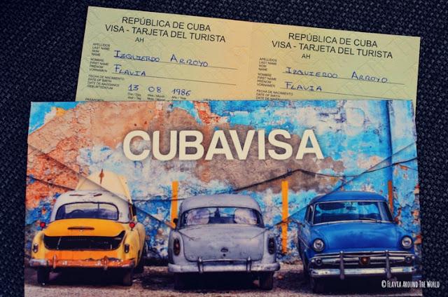 tarjeta turística cuba visado cuba