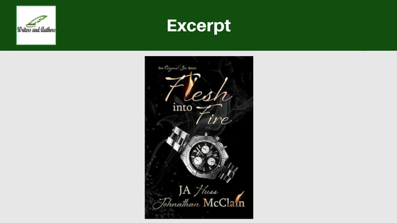 Excerpt: Flesh Into Fire by JA Huss & Johnathan McClain