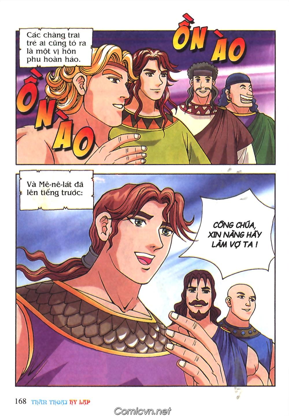 Thần Thoại Hy Lạp Màu - Chapter 51: Nàng công chúa Helen - Pic 7
