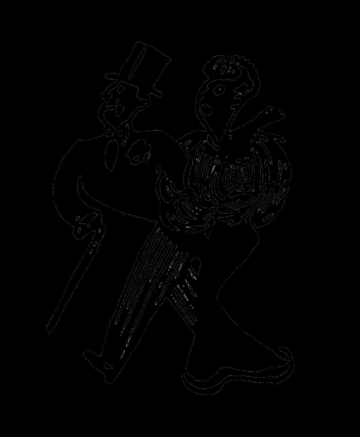 Digital Stamp Design Vintage Theater Entertainment