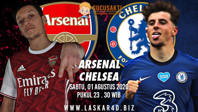Prediksi Bola Arsenal vs Chelsea Sabtu 01 Agustus 2020