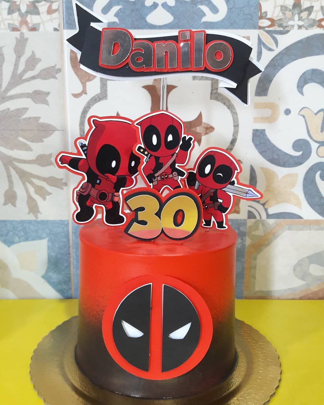 Deadpool Personalised Party//Food Box Party Favour