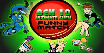Ben 10 Ultimate Alien Cricket Funny Match