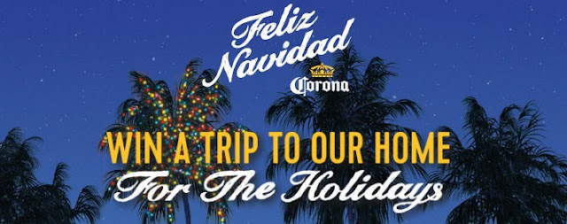 THE CORONA HOLIDAY 2017 SWEEPSTAKES