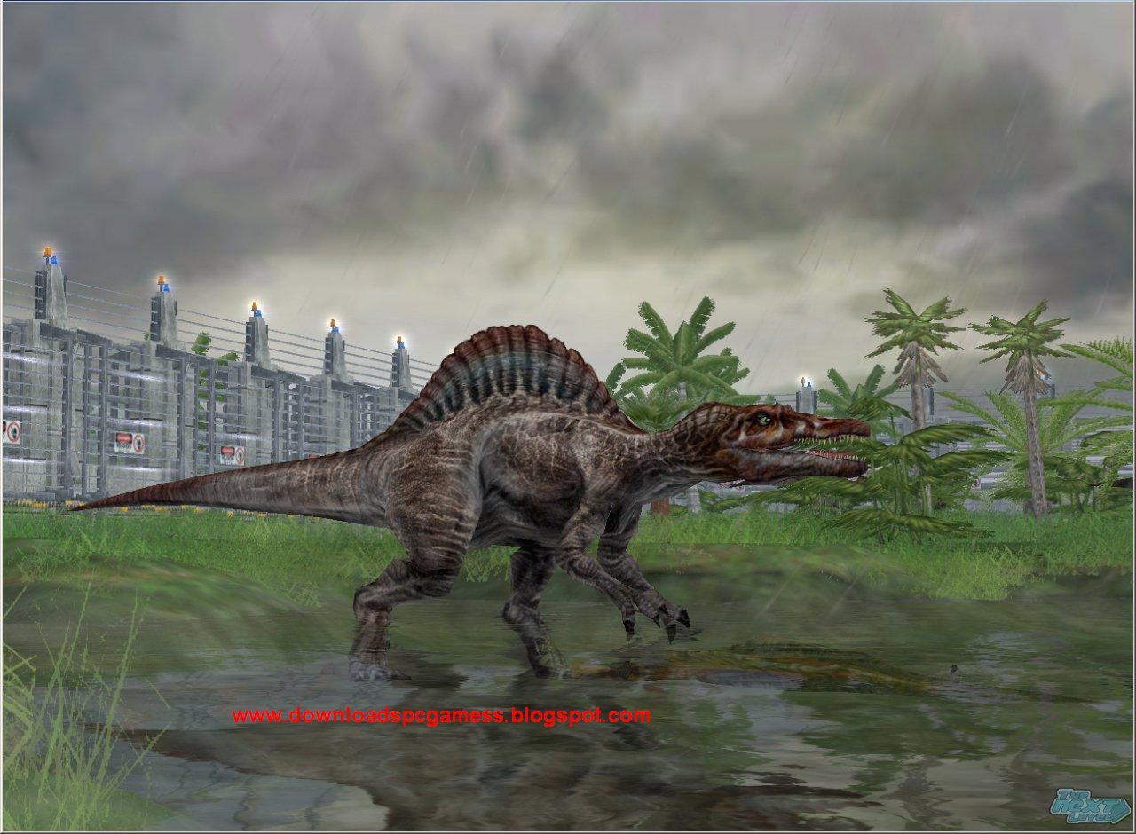 Jurassic Park Operation Genesis Free Download PC Game Full ...