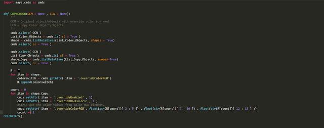 override RGB Script