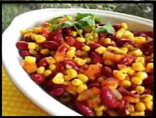 easy way to make red beans and corn salad recipe