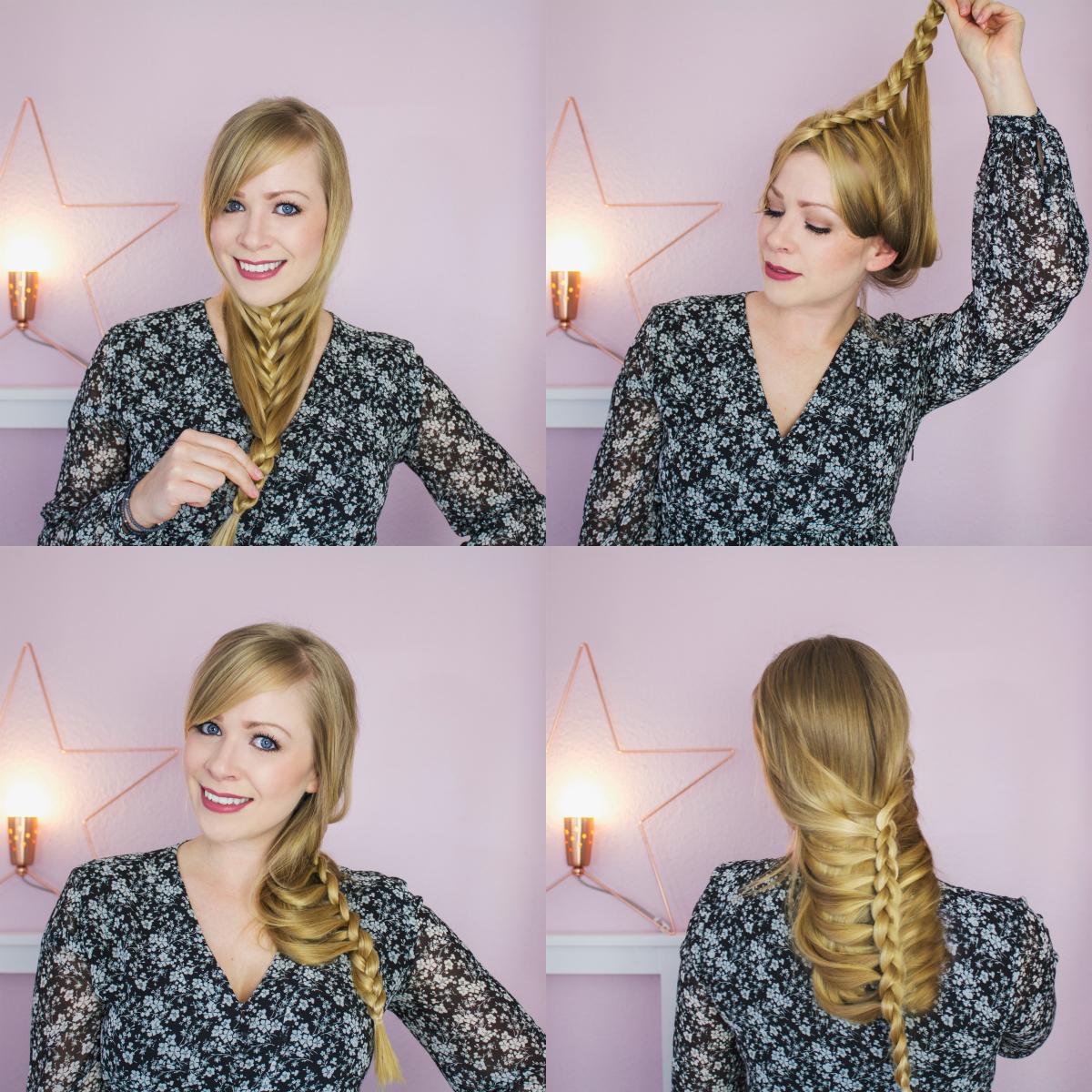2 Minuten Frisur Für Lange Haare Blush Affair
