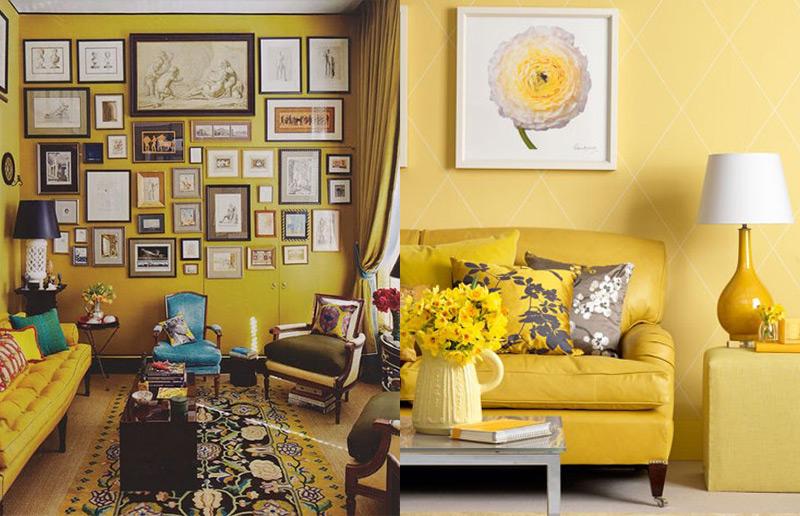 Inspiração pra decoração: veja como usar amarelo na casa toda!