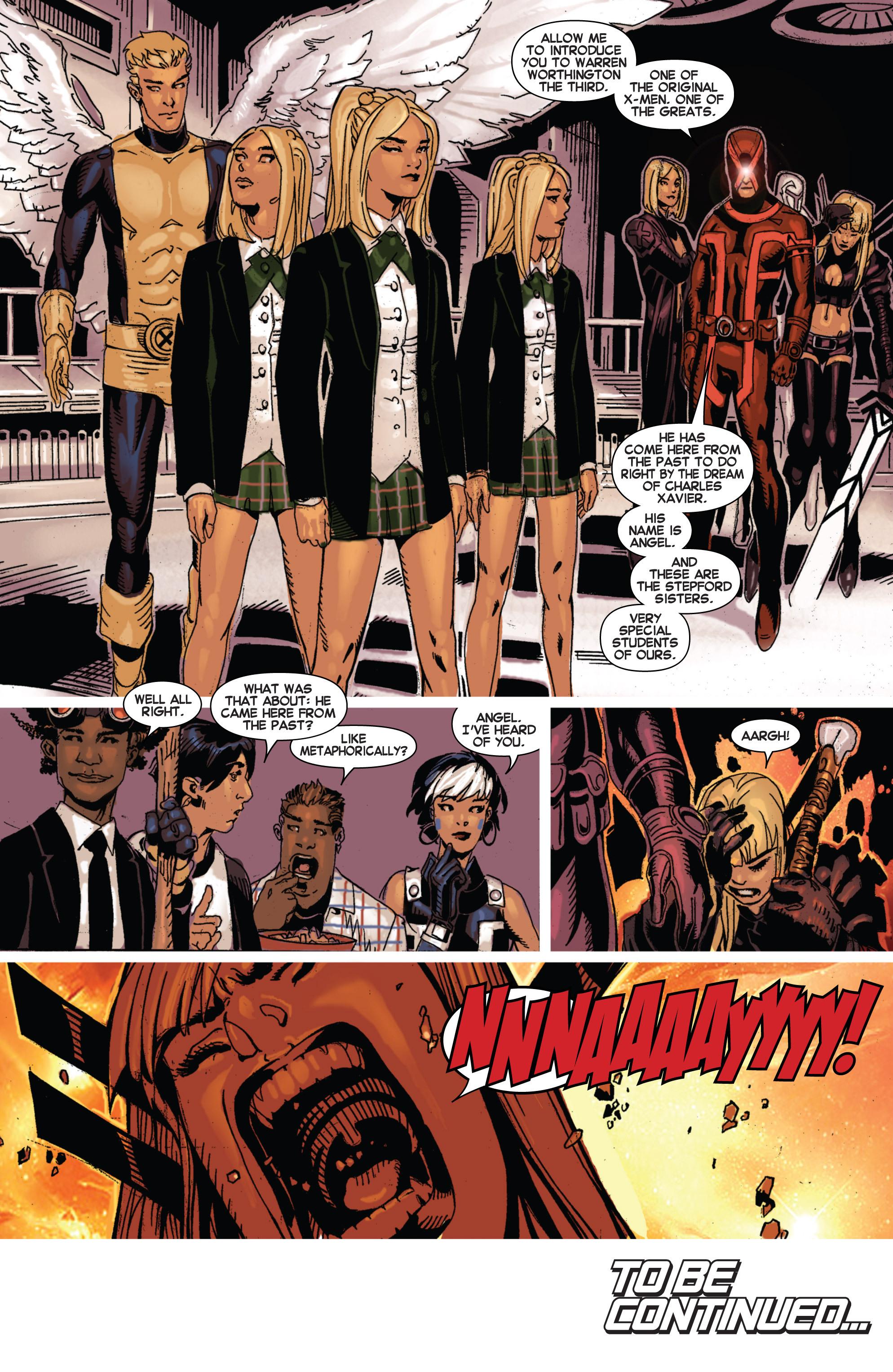 Read online Uncanny X-Men (2013) comic -  Issue #4 - 19