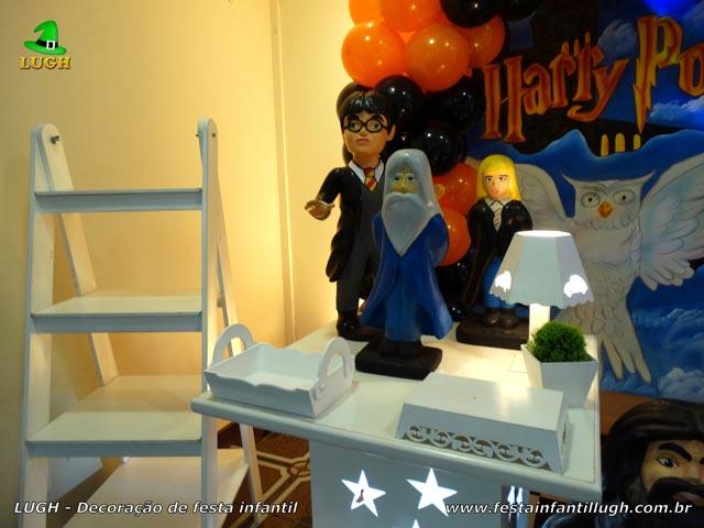 Decoração infantil Harry Potter - Mesa temática de aniversário