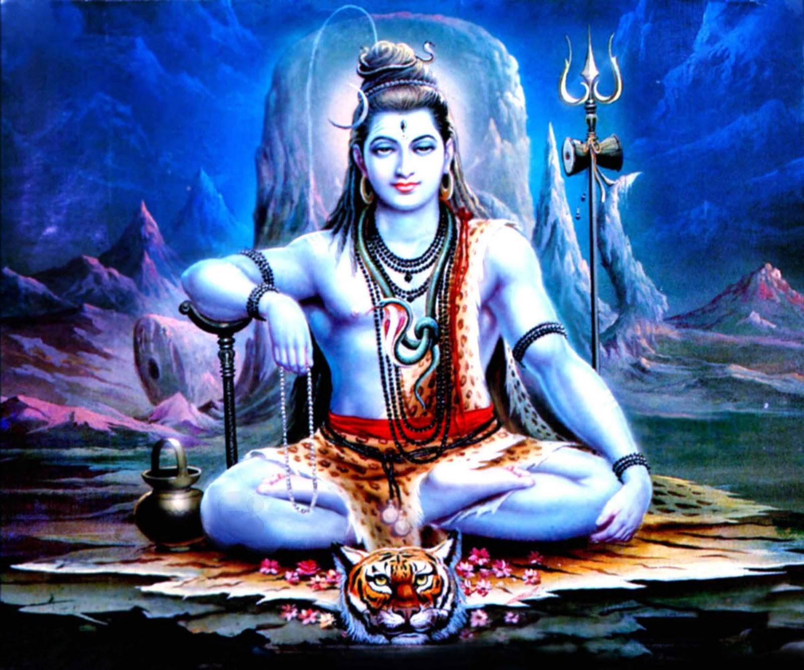 Trololo Blogg Angry Wallpapers Of Lord Shiva
