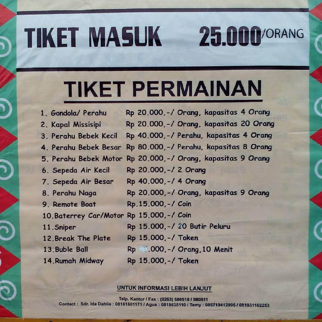 Info Little Venice Kota Bunga Rute Lokasi Harga Tiket Masuk Jam