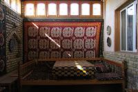 Uzbekistan, Rishtan, Rustam Usmanov Ceramics Museum, topchan, © L. Gigout, 2012