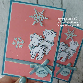 Seasonal Chums Reindeer Card Stampin up