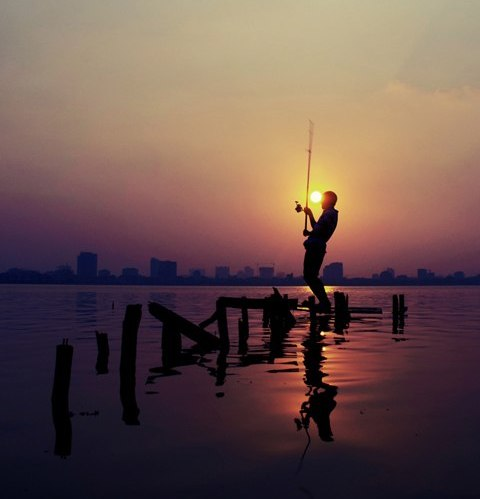 Best places to view sunset in Hanoi
