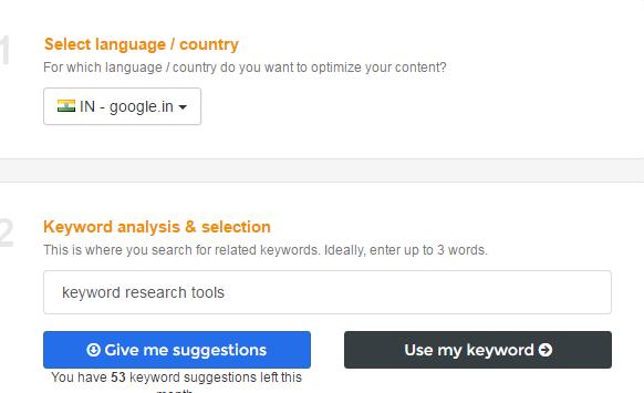 webtexttool keyword seach