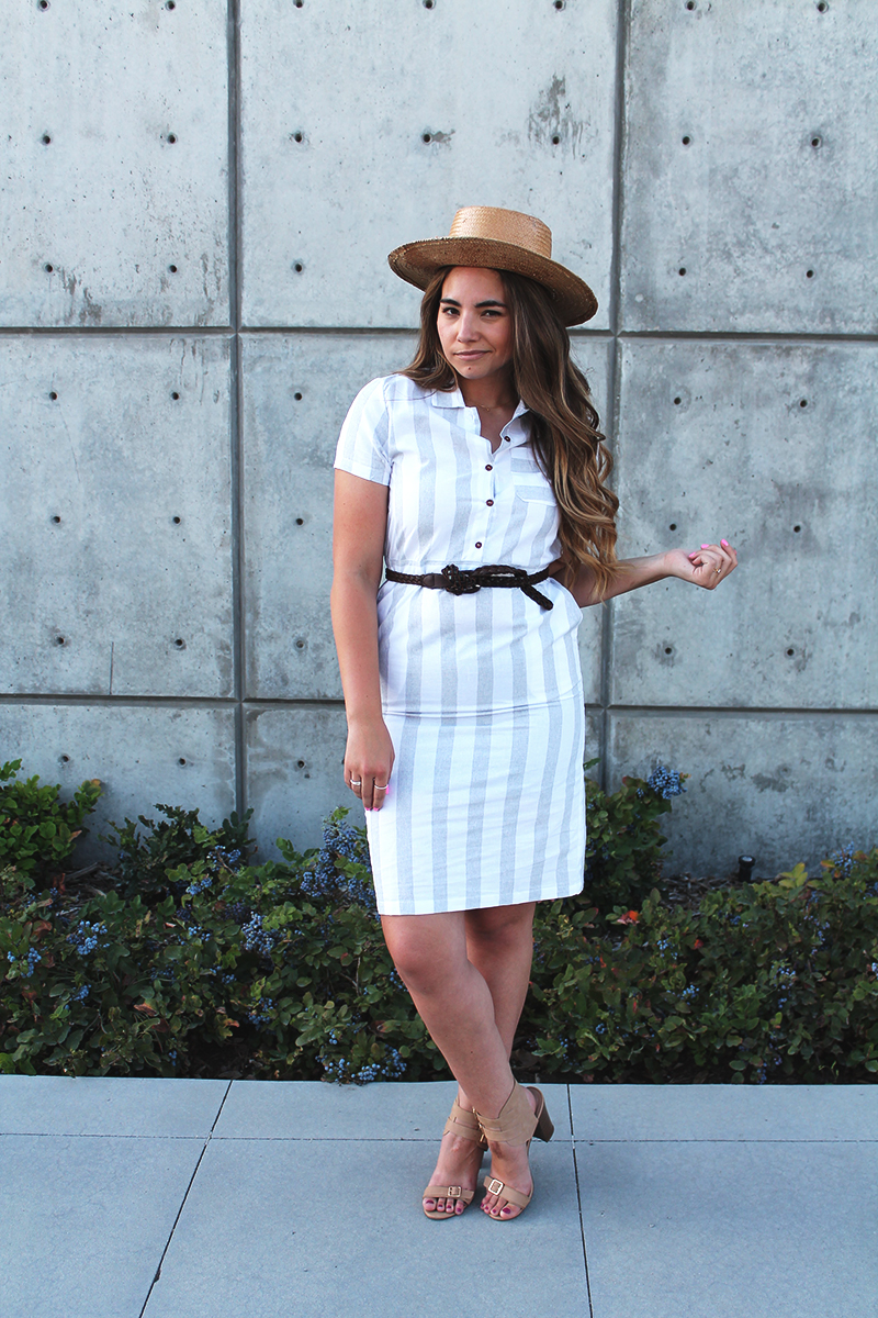mindy mae's market, striped dress, fashion blogger