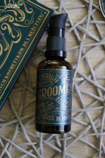Groomen - Olejek do pielęgnacji brody oraz skóry twarzy