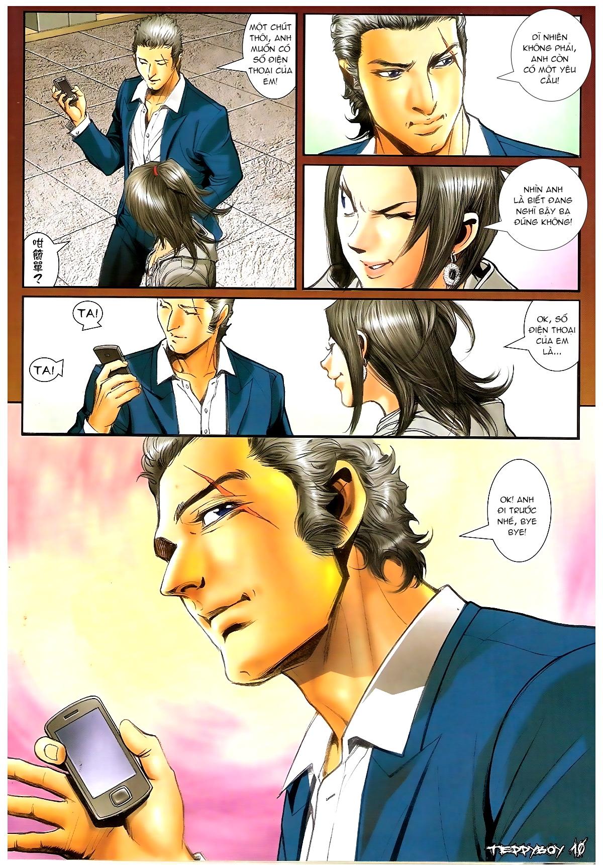 Người Trong Giang Hồ - Chapter 1369: Mê trai gặp Sở Khanh - Pic 9
