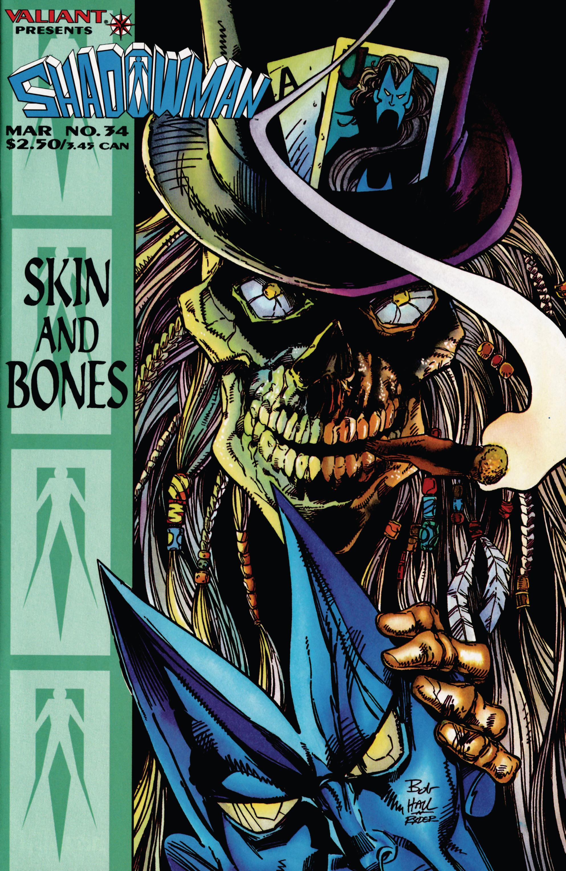 Read online Shadowman (1992) comic -  Issue #34 - 1