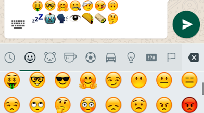 Emoticon Baru WhatsApp