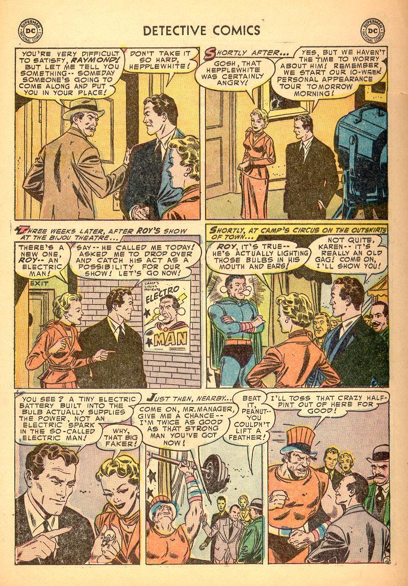 Read online Detective Comics (1937) comic -  Issue #214 - 28