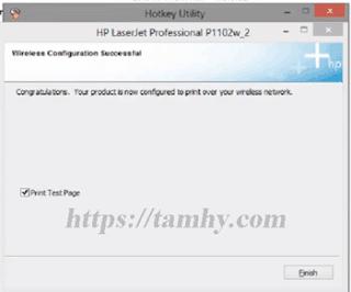 Hướng dẫn cài đặt máy in Hp P1102W qua wifi 20