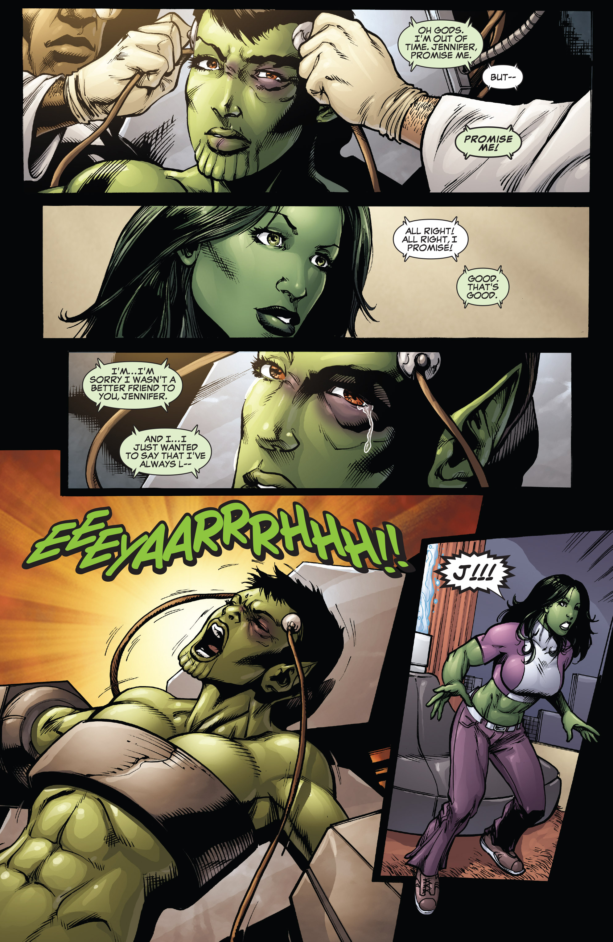 Read online She-Hulk (2005) comic -  Issue #38 - 8