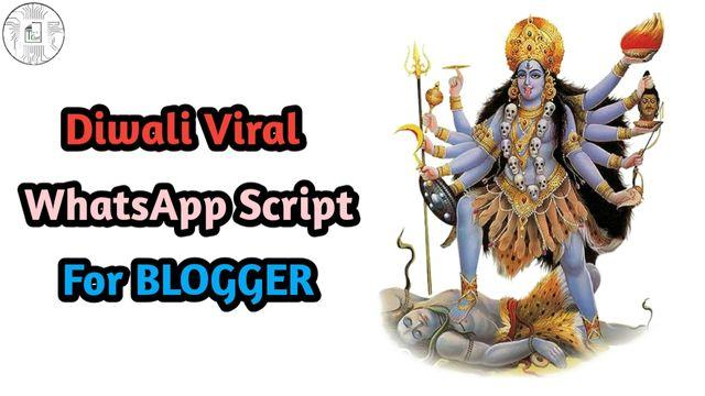 Happy Diwali Viral WhatsApp Script 💥 (Step by Step)