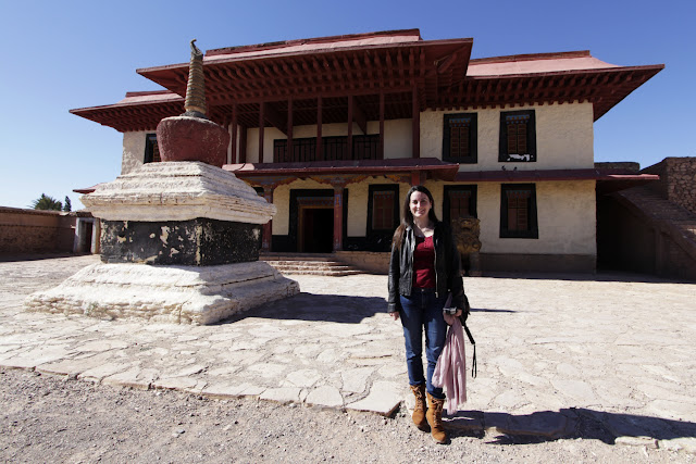 Templo del Tibet en los Estudios Atlas