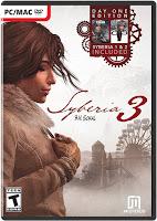 Syberia 3 Game Cover PC