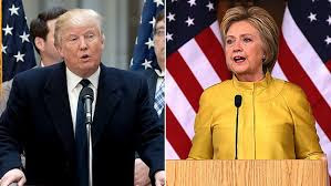 Photo of trump and hillary together