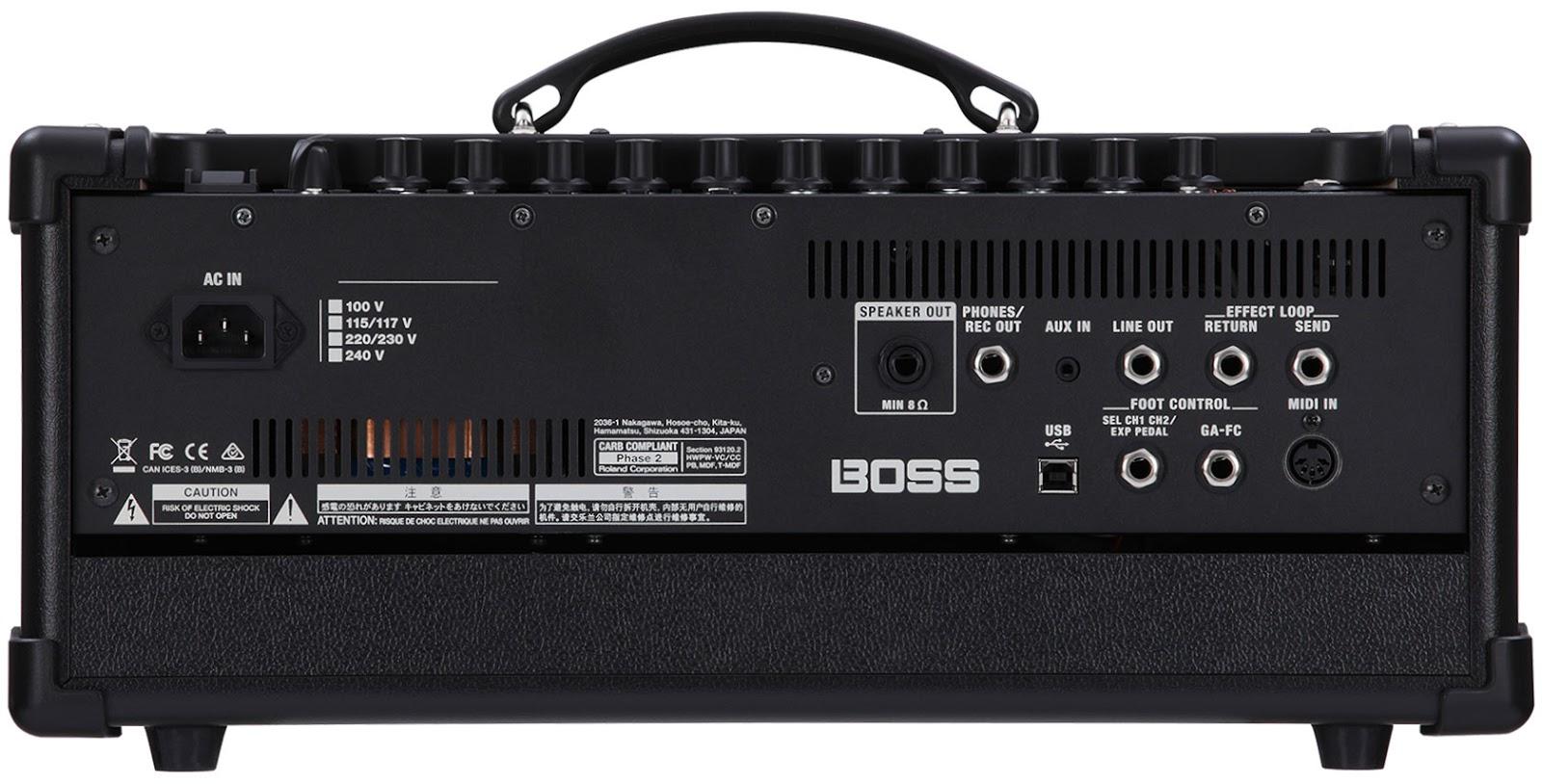 Gear Otaku Boss Katana Amp 発表。5アンプモデル、55エフェクト搭載で手頃な価格のギターアンプ