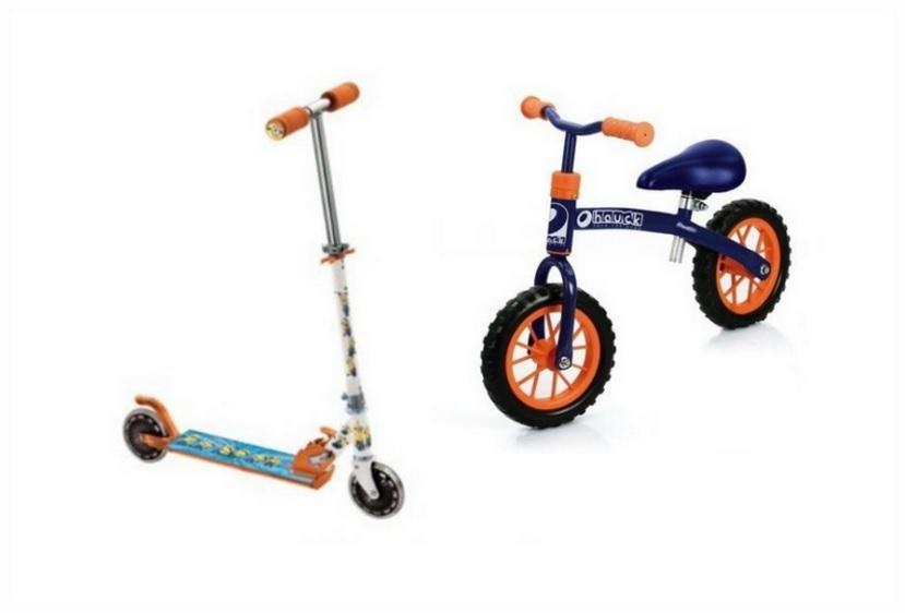 Rowerek biegowy czy hulajnoga?