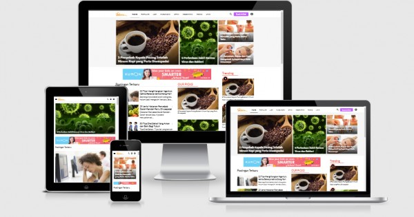 Vebma Responsive Blogger Template Free