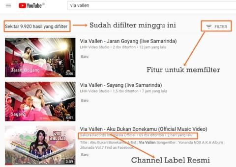 Cara mudah mengetahui update lagu terbaru dari artis idola