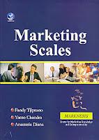 Judul Buku : Marketing Scales