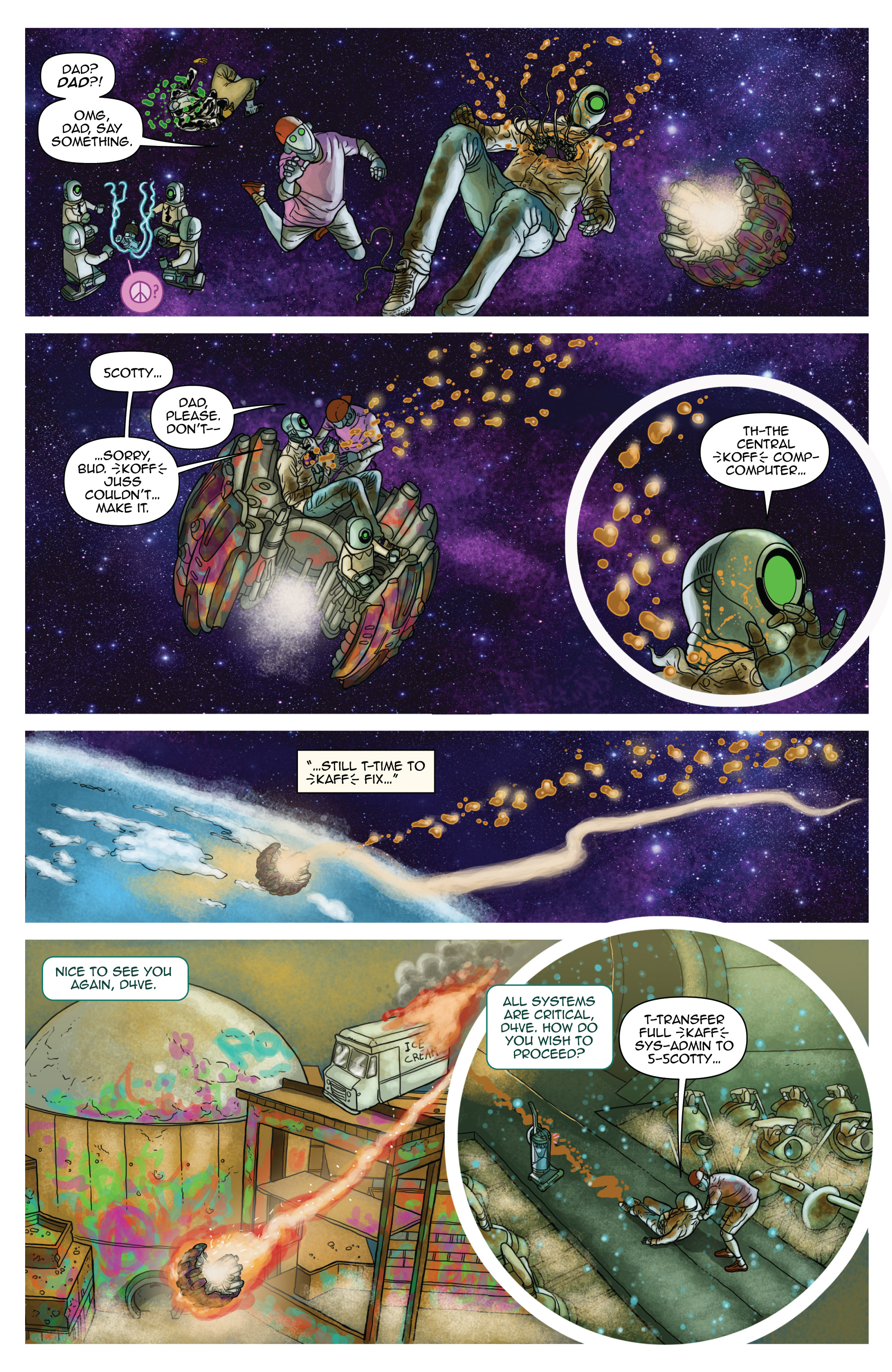 Read online D4VEocracy comic -  Issue #4 - 20