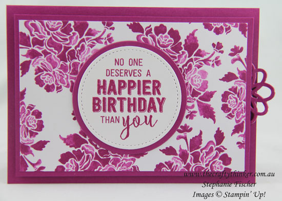 In-Colour, Sneak Peek, Double Slider Card, Fun Fold, #thecraftythinker, Stampin Up Australia Demonstrator, Stephanie Fischer, Sydney NSW