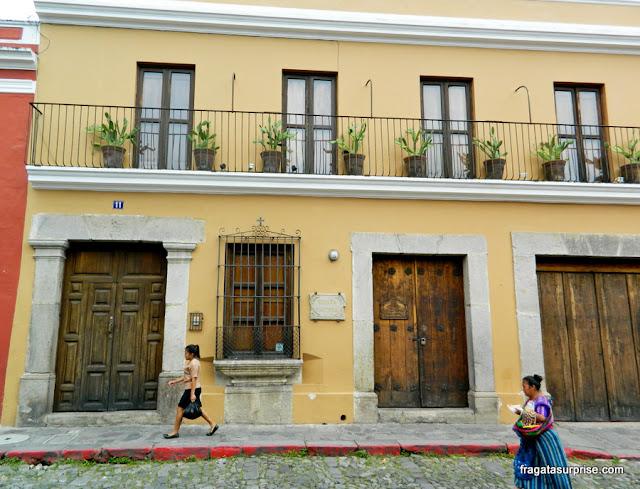 Antigua, capital colonial da Guatemala