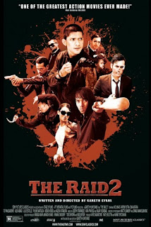 The Raid 2 movie ticket contest