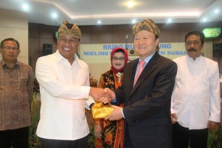 Subang Dapat Bantuan Rp 3,5 Miliar Untuk Proyek Desa Percontohan