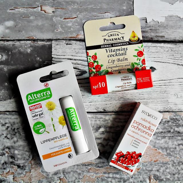 Hit, kit i totalny bubel - pielęgnacja ust | SYLVECO | GREEN PHARMACY | ALTERRA | balsamy do ust