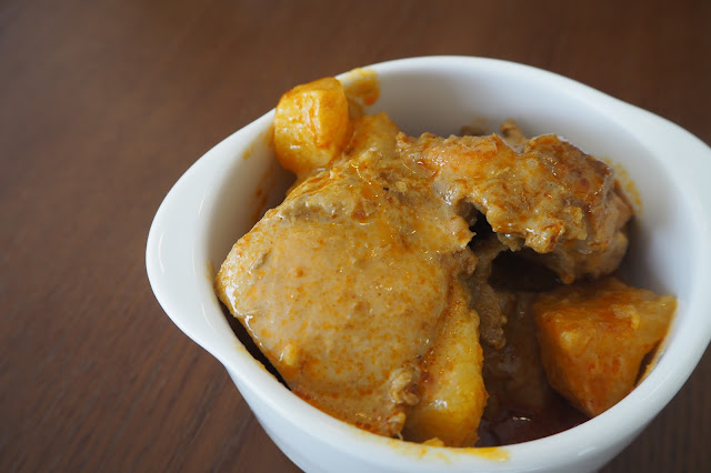Curry Chicken Dorsett Singapore Hotel review