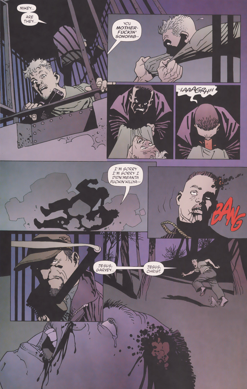 Read online 100 Bullets comic -  Issue #49 - 7