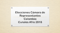 Curules afro 2018
