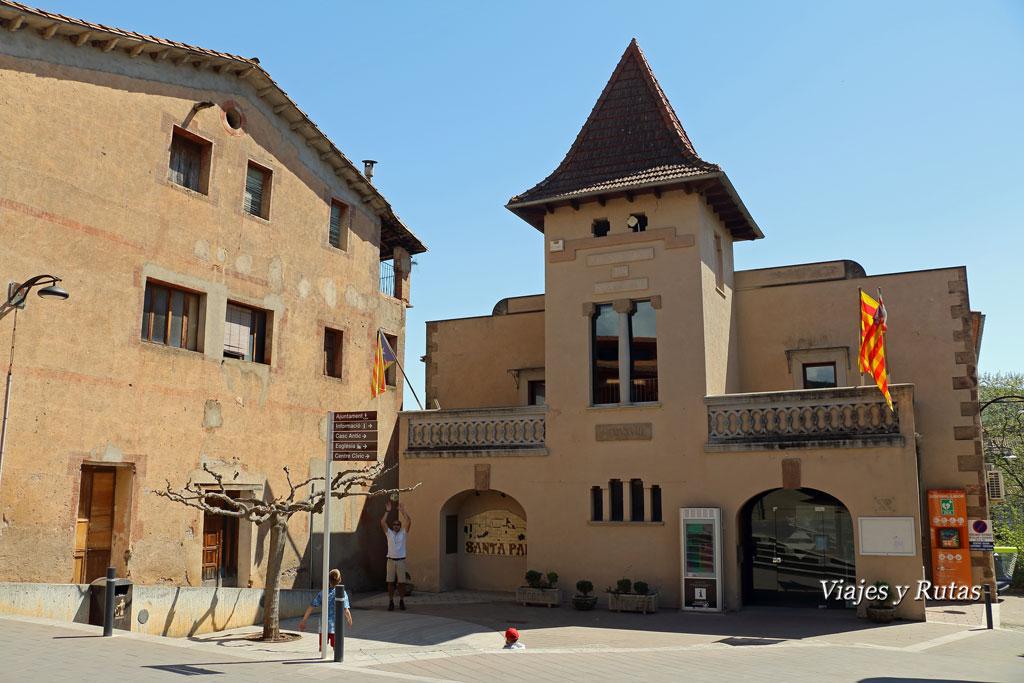 Ayuntamiento de Santa Pau, Girona