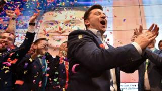 Ukraine Election: Comedian Zelensky 'wins Presidency By Landslide'